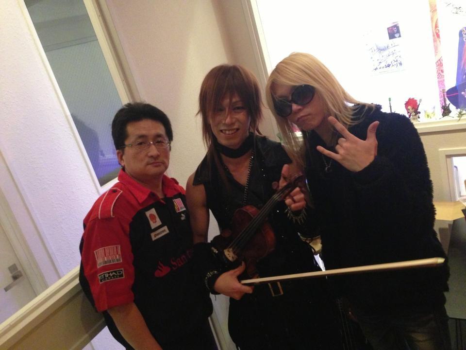 マスター&Akitoさんと3ショット☆