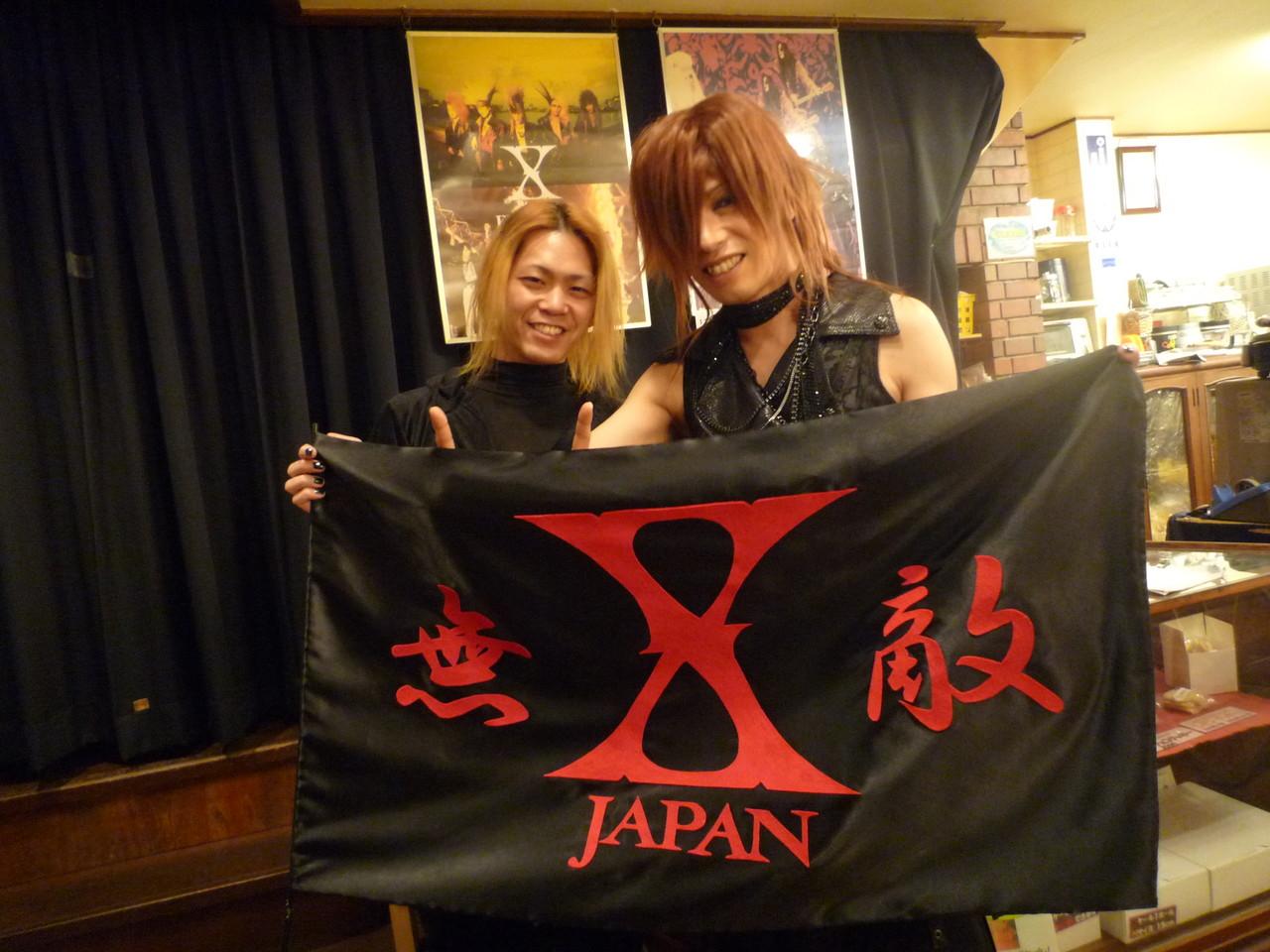 X-HIROSHIMA YUSHIさんと記念写真(^-^)v
