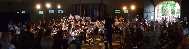 Hier spielte auch das Schulorchester Lüdinghausen, Olfen ...