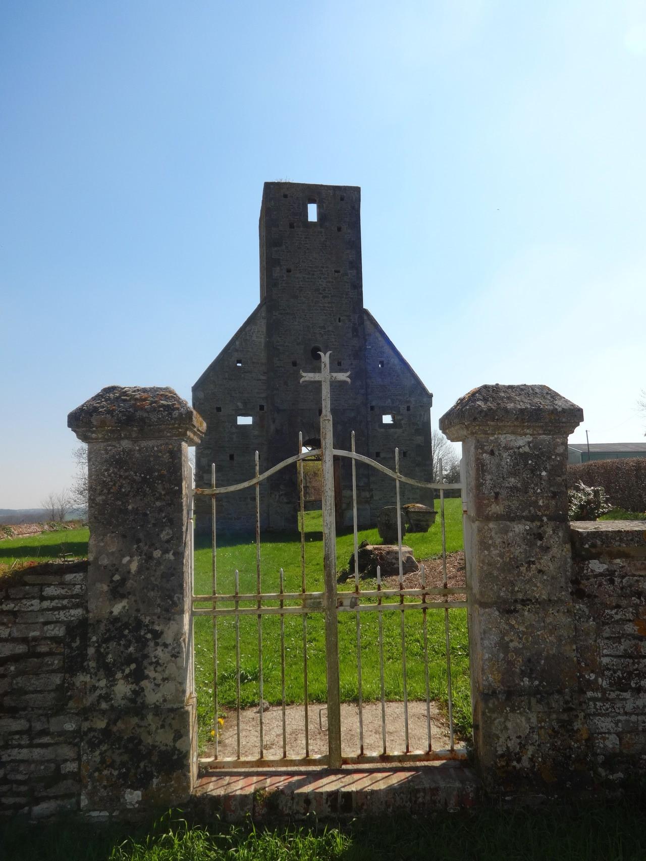 L'église de Fierville - Façade