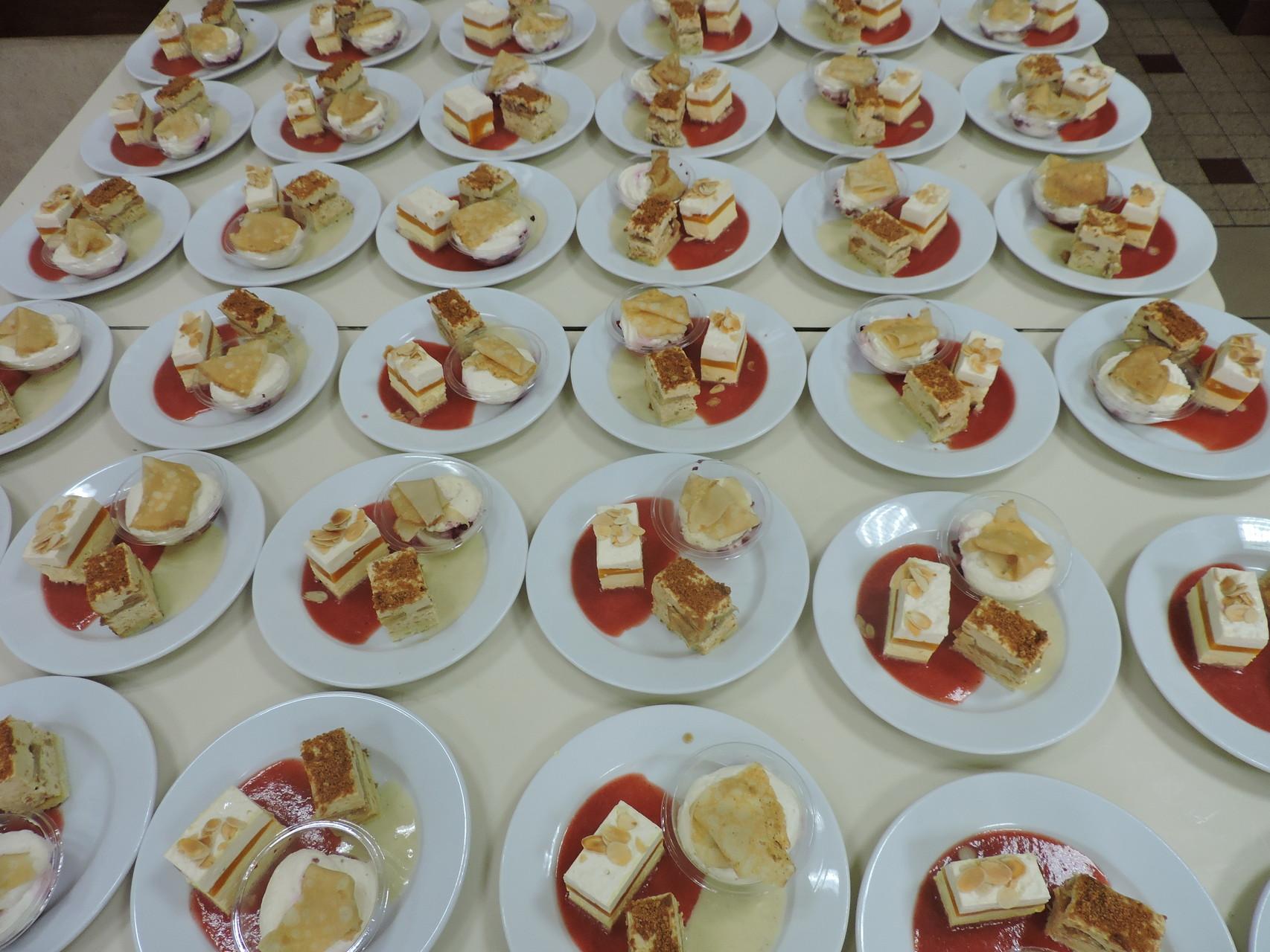 Petite trilogie de desserts .... en version multiple !!!