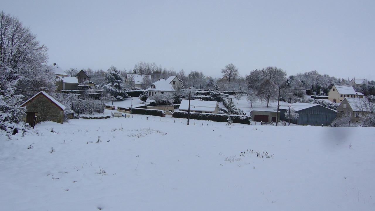 Avenay sous la neige