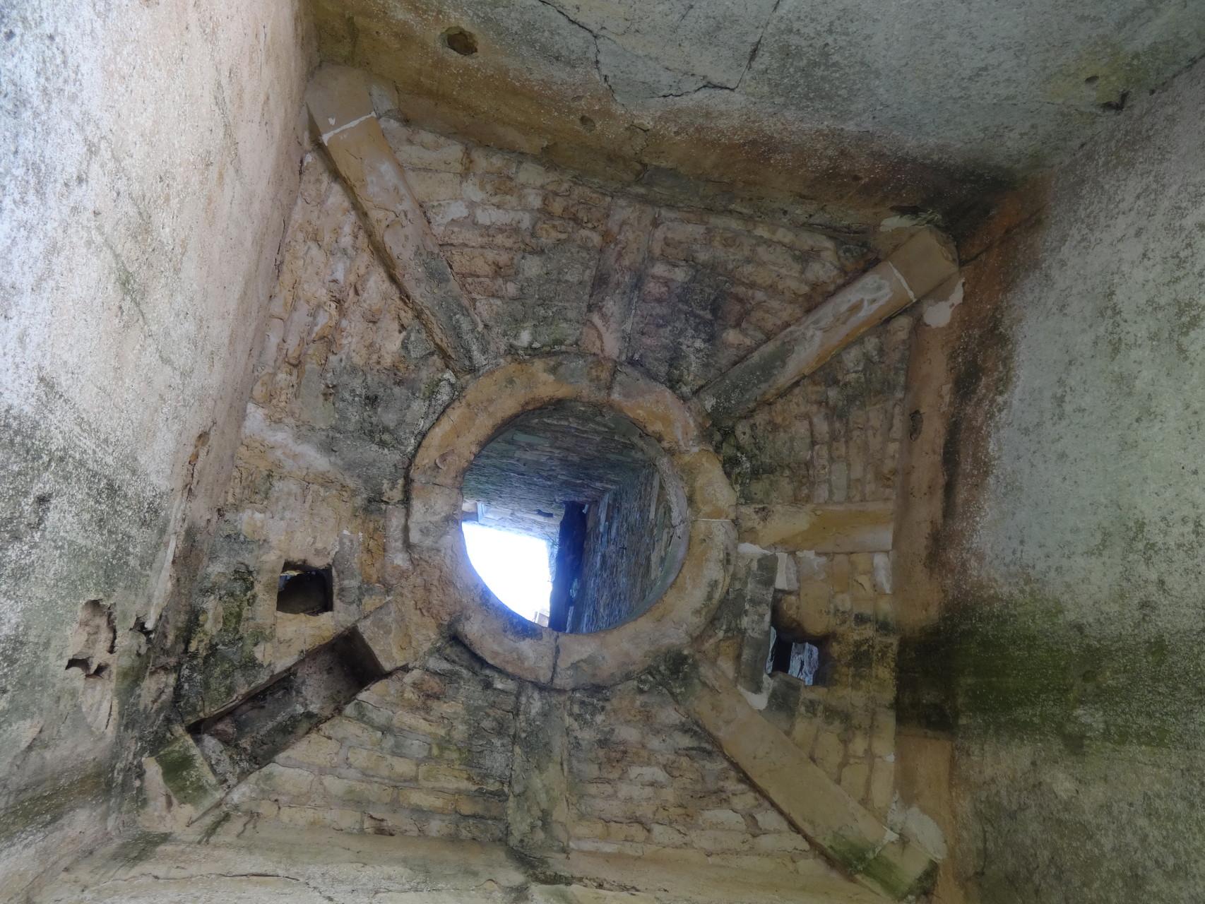 L'intérieur du clocher de Fiervile