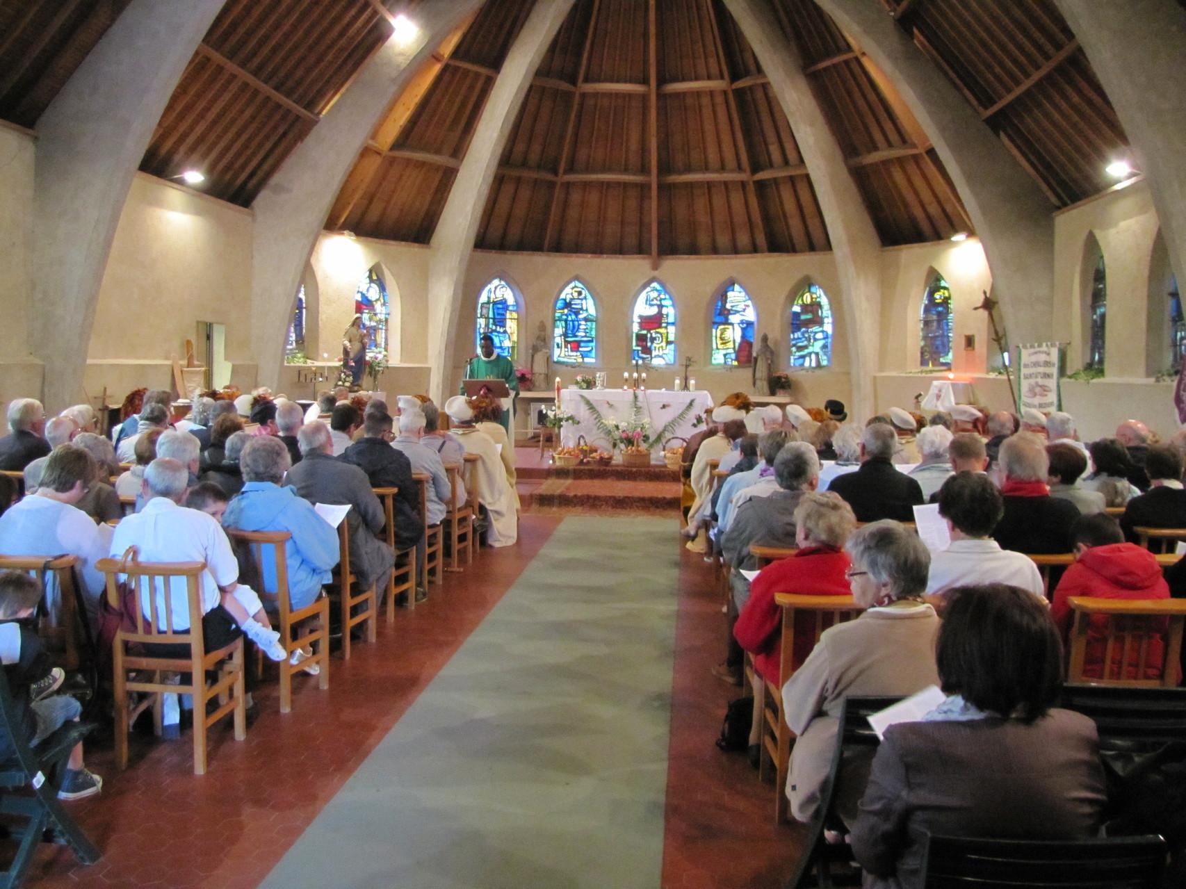 Intérieur de l'Eglise (Fête du pain)2013