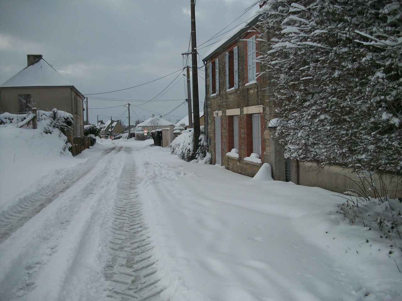 Route d'Amayé sur Orne