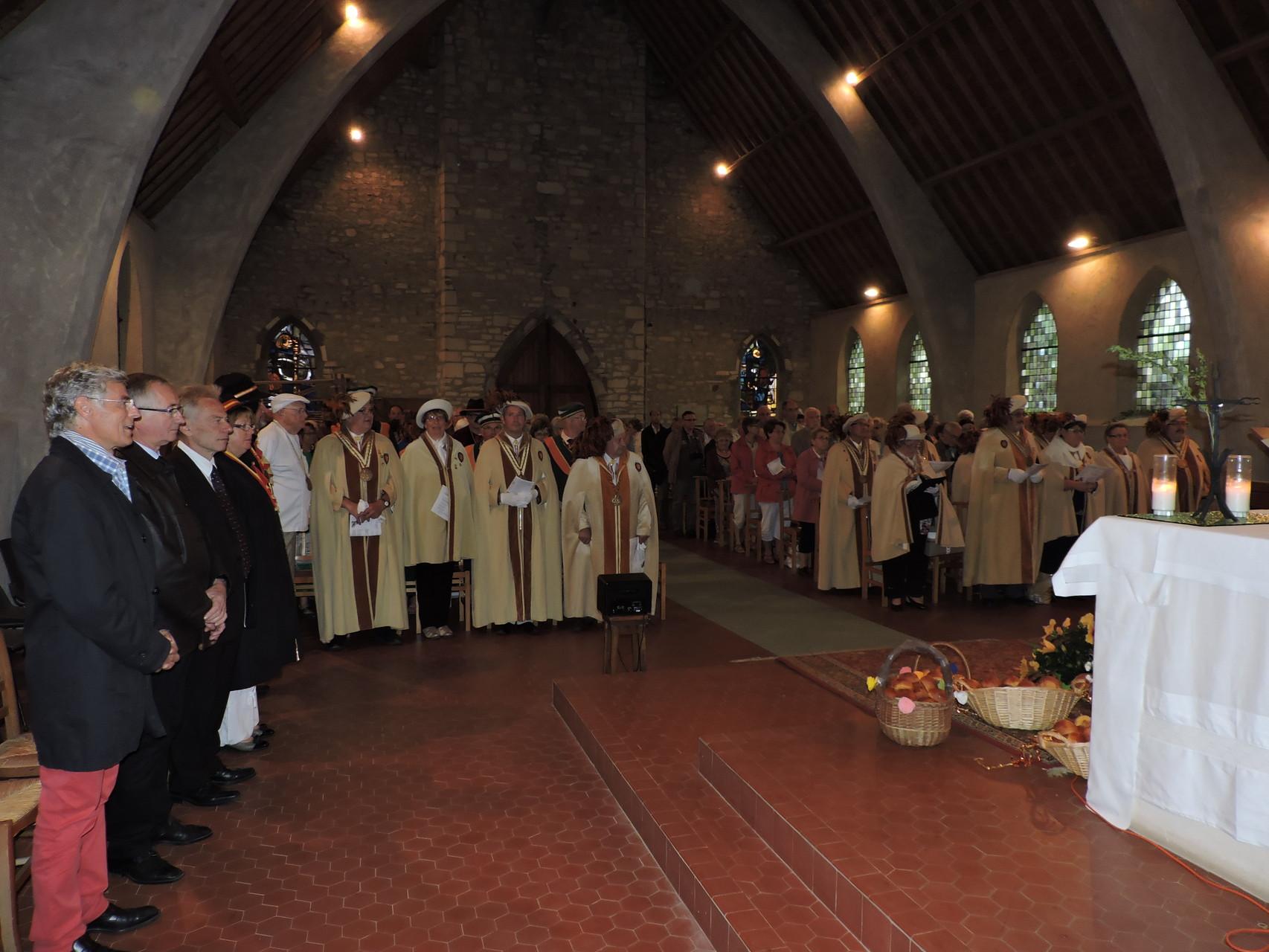 les confréries à la messe 2015