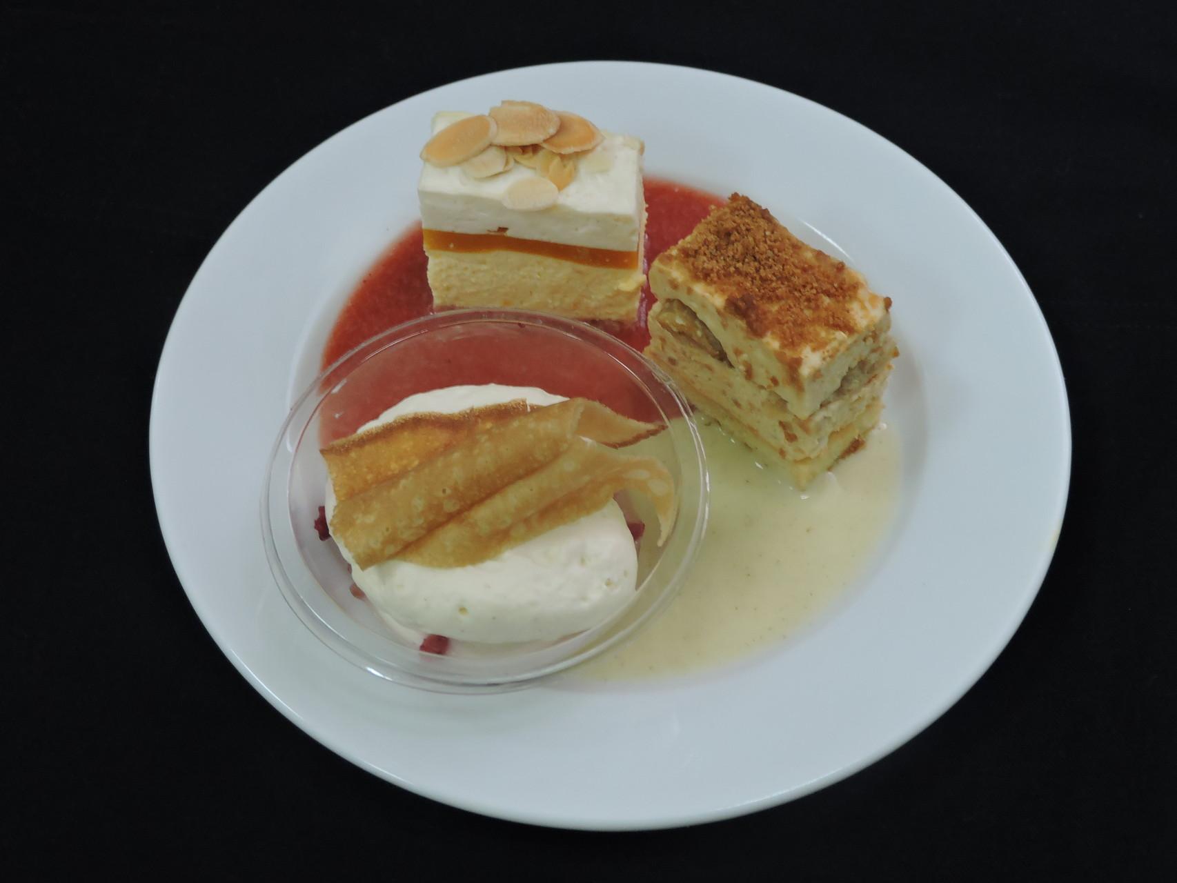 Petite trilogie de desserts