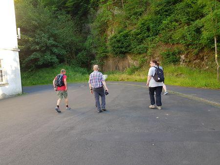 After work walk - Eine kleine, aber tolle und interessierte Gruppe!