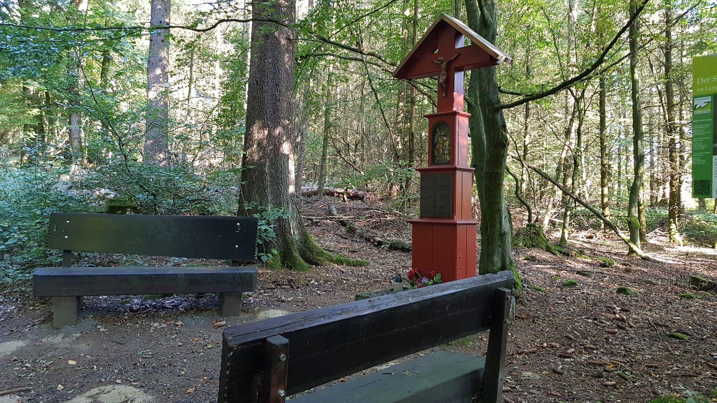 Rastplatz am Schutzengel der Gemeinde Irmtraut