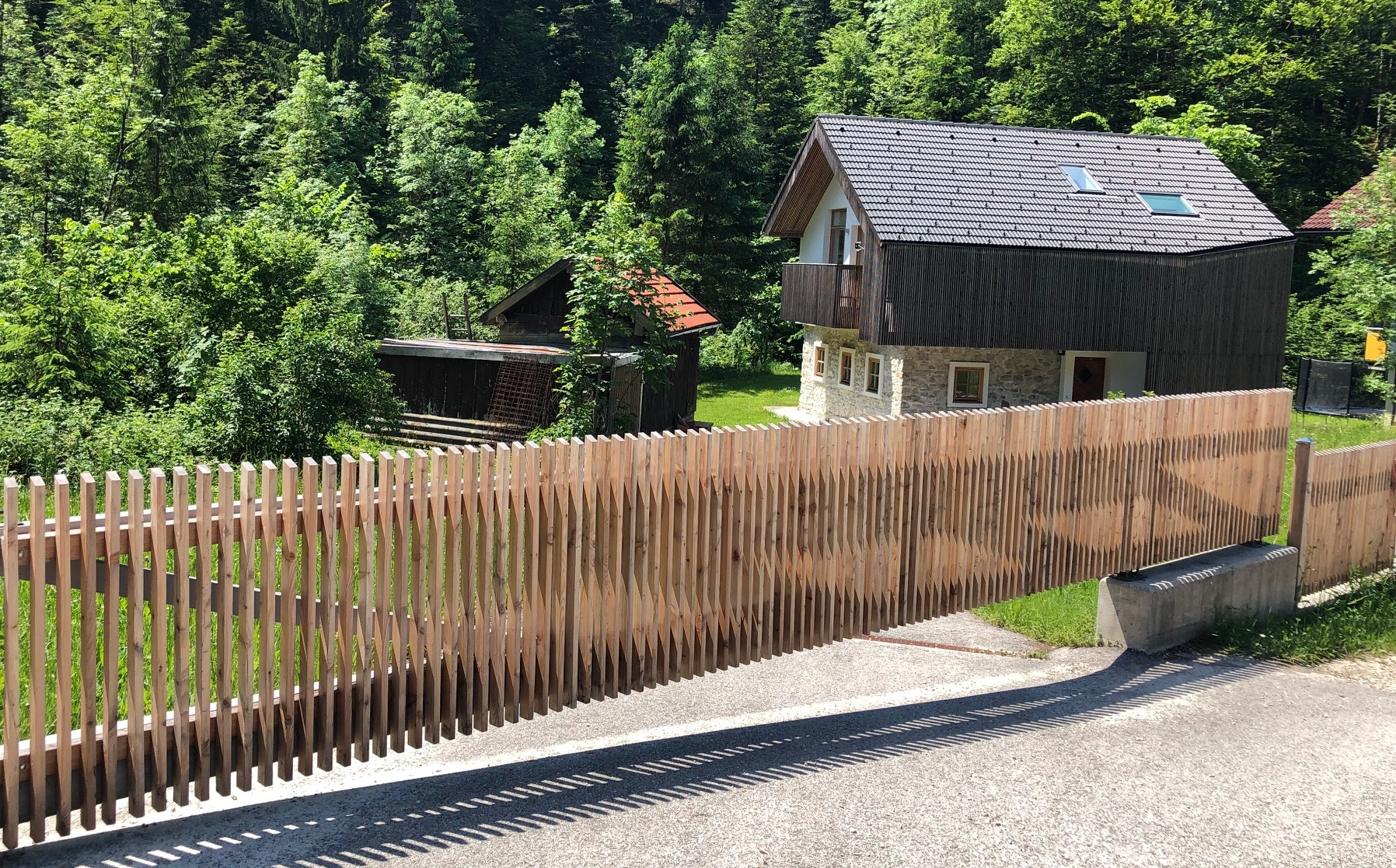 Rahmen für Holz