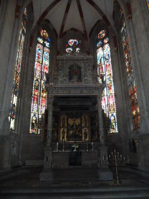 Glasmalerei von 1350