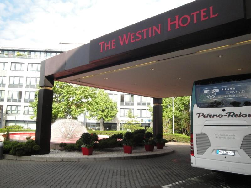Ankunft im Leipziger Hotel