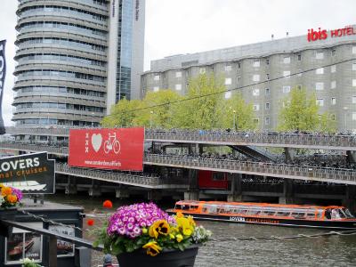 Fahrradparkhaus in Amsterdam