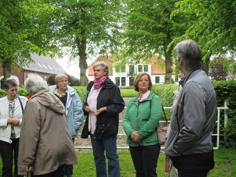 Führung mit Frau Annegret Hamster