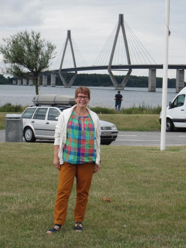 im Hintergrund die Störesundbrücke