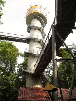 Turm vom Baumkronenpfad 40m hoch