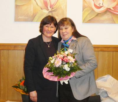 Frau Fahje und Frau Bock
