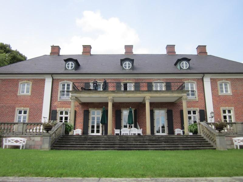 Die Rückseite des Herrenhaus