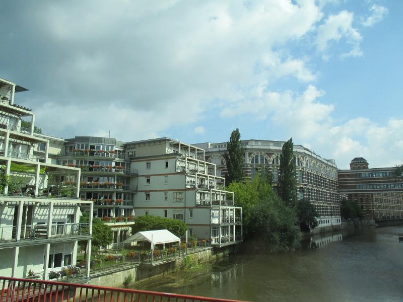 Ehemalige Wollgarnfabrik, jetzt Wohnungen