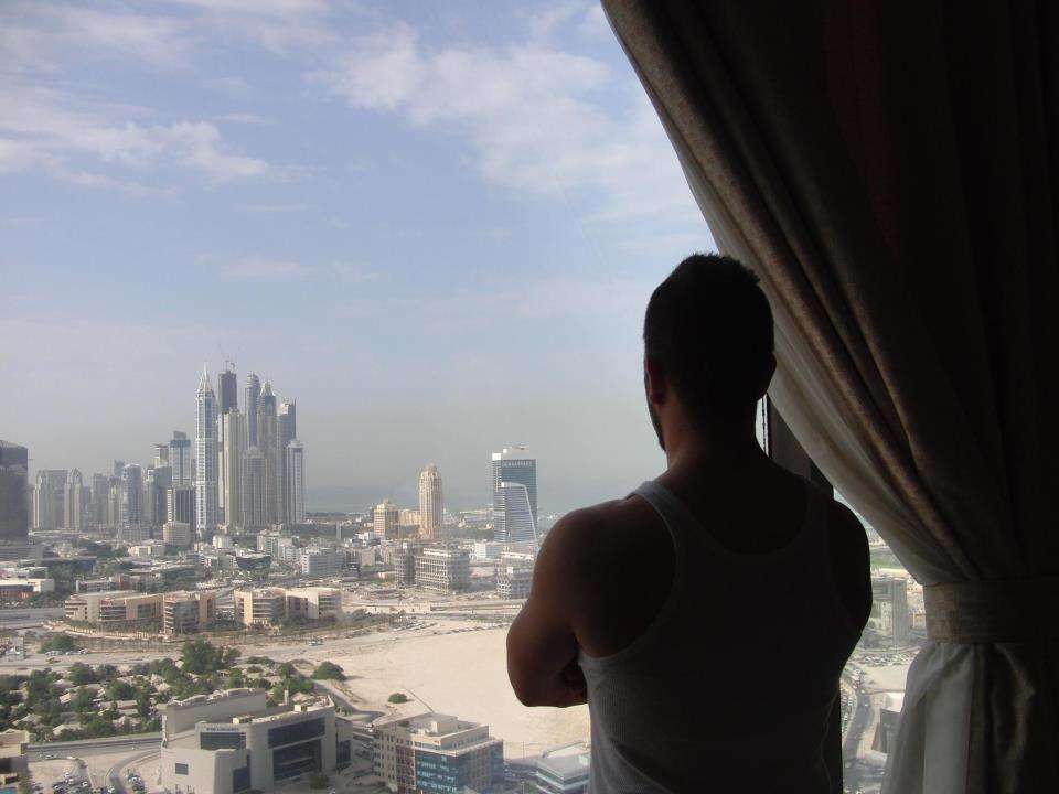 Blick auf Dubai Marina