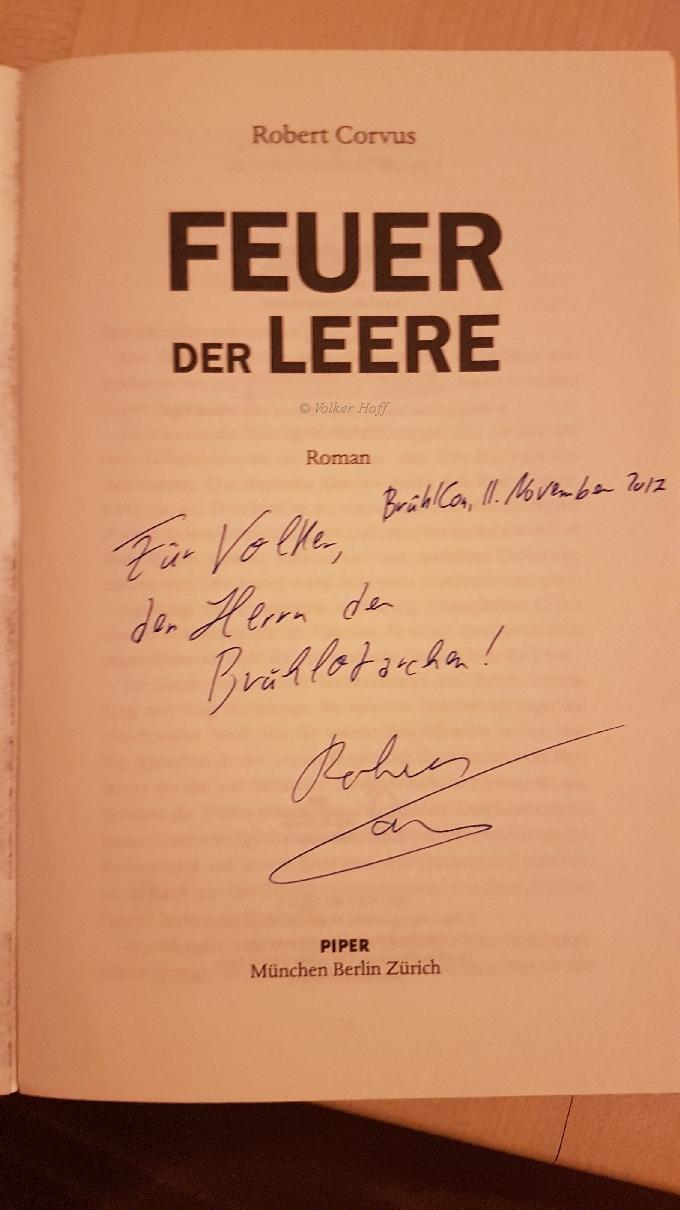 Für Volker, dem Herrn der Brühlotarchen 🙂 Danke Robert!