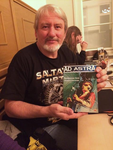 Udo Mörsch schrieb nicht nur als Kind Heftromane, sondern ist auch an der Überarbeitung alter Heftromanserien im Mohlberg-Verlag beteiligt