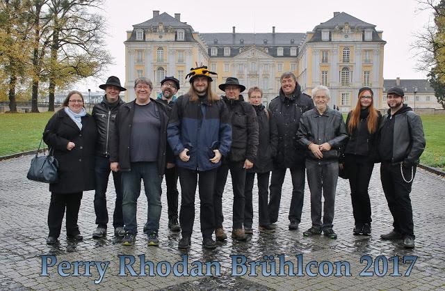 Die Teilnehmer des 1. BrühlCon – nicht mit auf dem Bild ist unser Fotograf Udo Mörsch