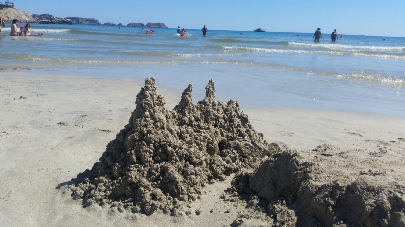 Kunst am Strand