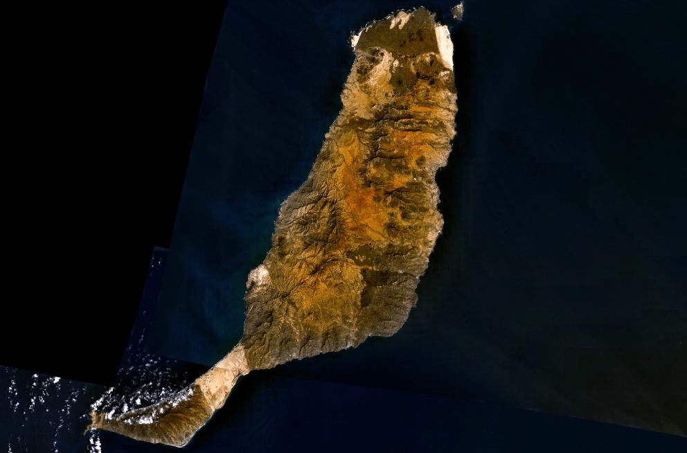 Fuerteventura (Quelle: NASA, 2006)