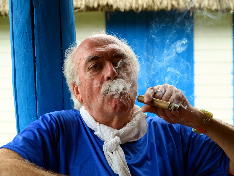 Bernd Th. auf Kuba