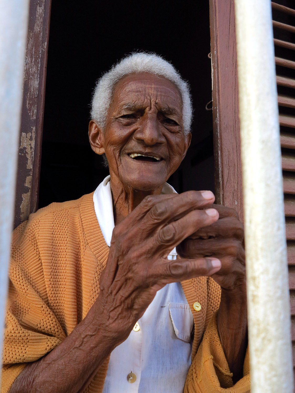 Frau in Trinidad, Kuba