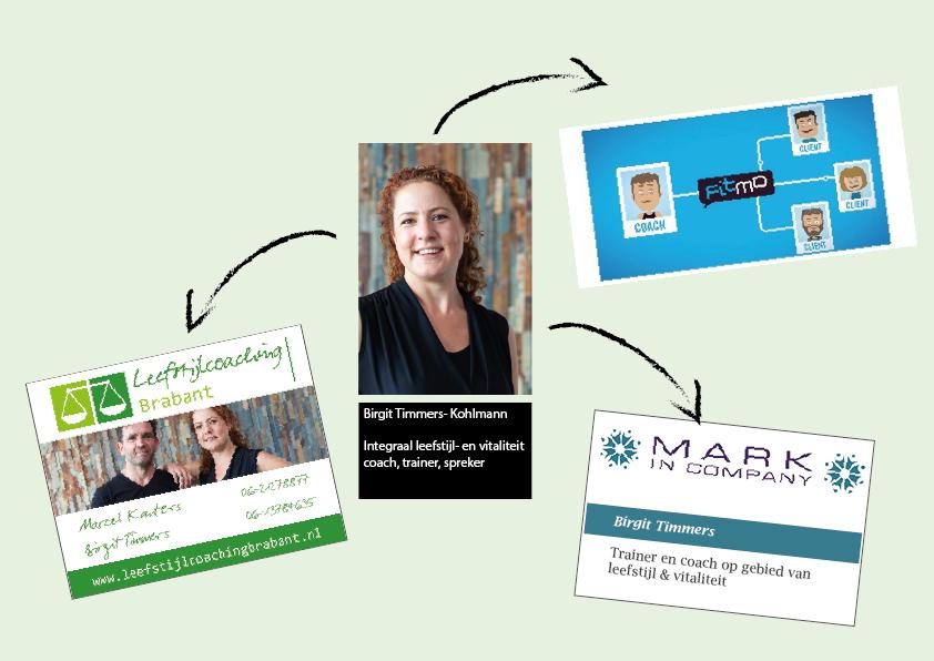 Birgit Timmers Kohlmann fitmo MARK in company Leefstijlcoaching Brabant partnerbedrijven