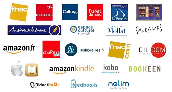 Librairies partenaires avec AGCE International en ligne