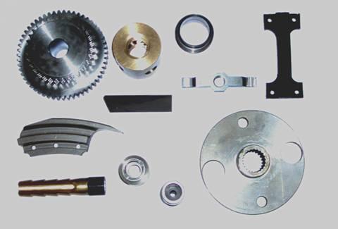Assortiment de pièces produites par nos soins