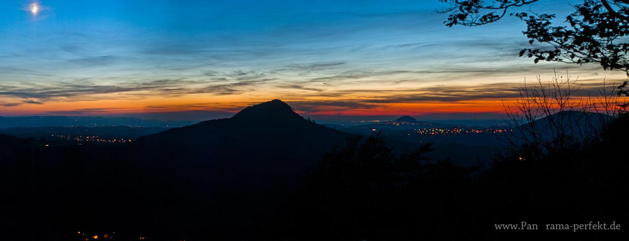 Mondnacht im Stauferland
