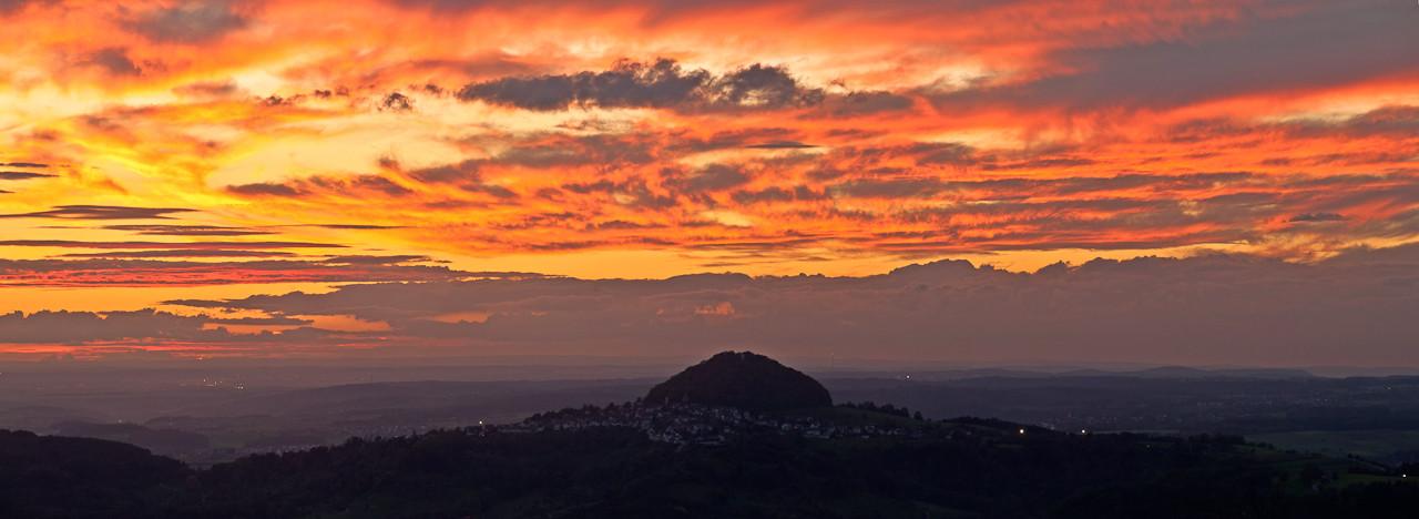 Hohenstaufen - Panoramafotografie