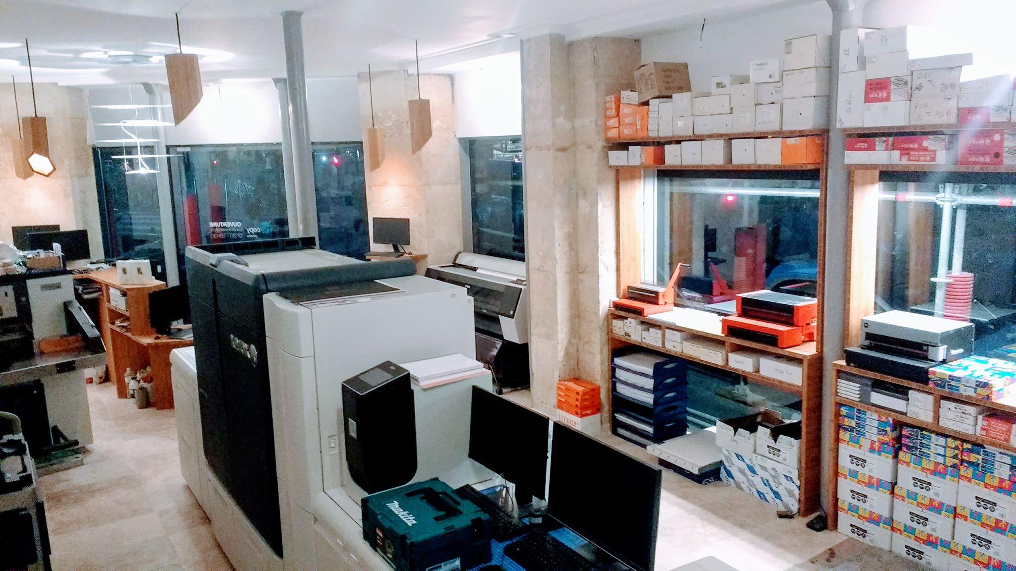 imprimerie Paris Xerox Iridesse