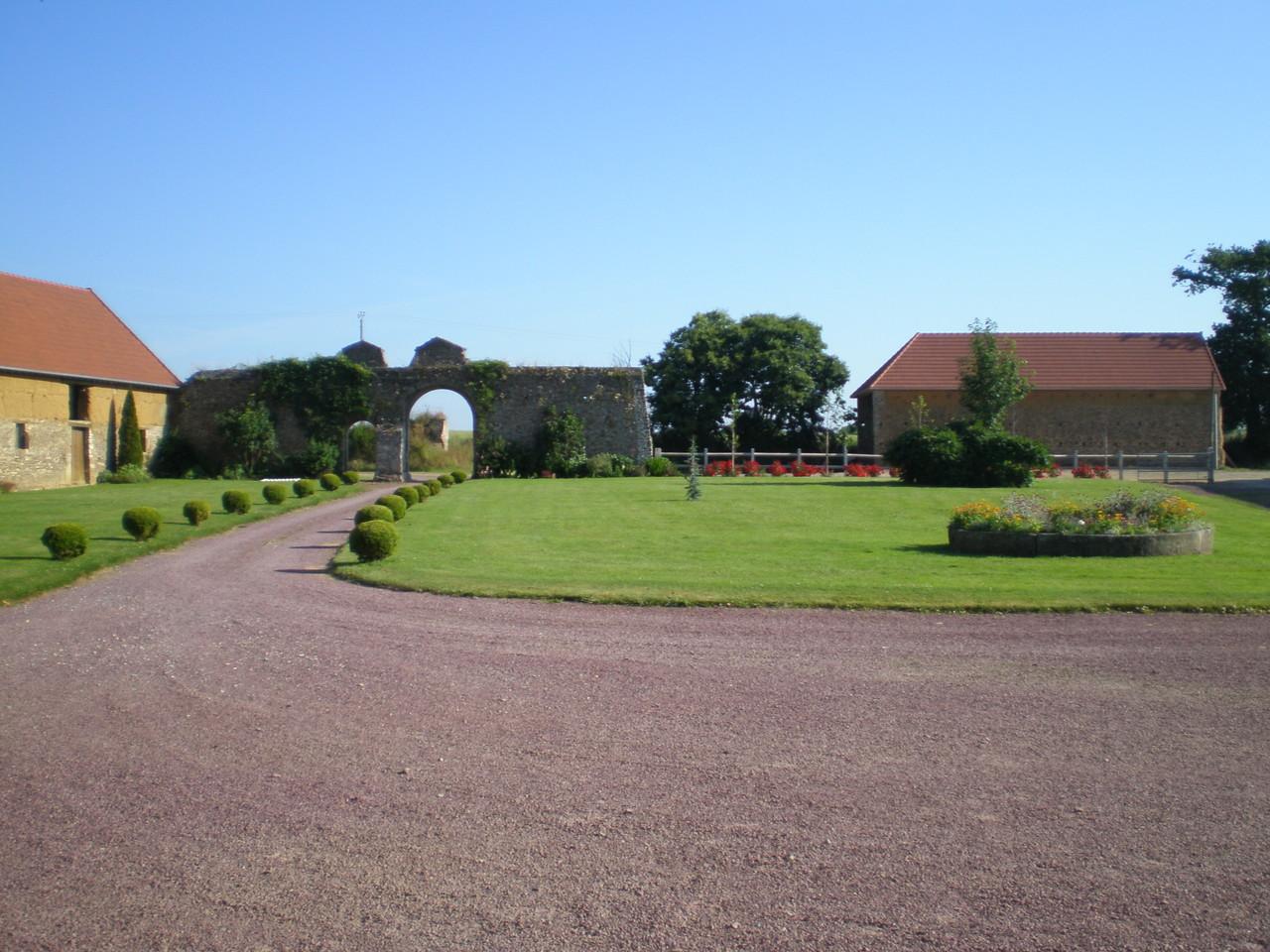 Gîte au jardin