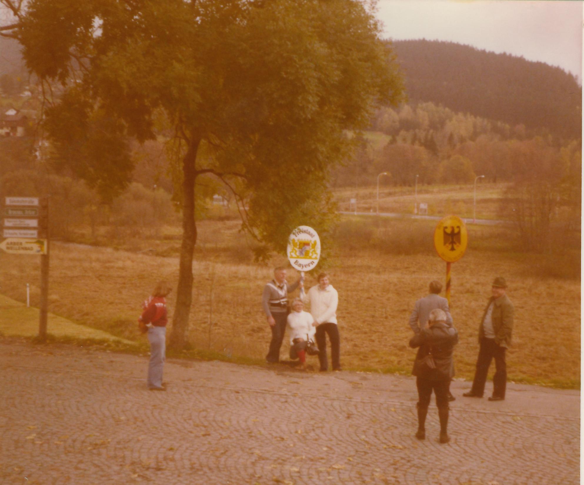 Grenzbesichtigung im Jahr 1979 erster Vereinsausflug