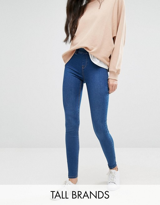 Jeggings in Jeansoptik