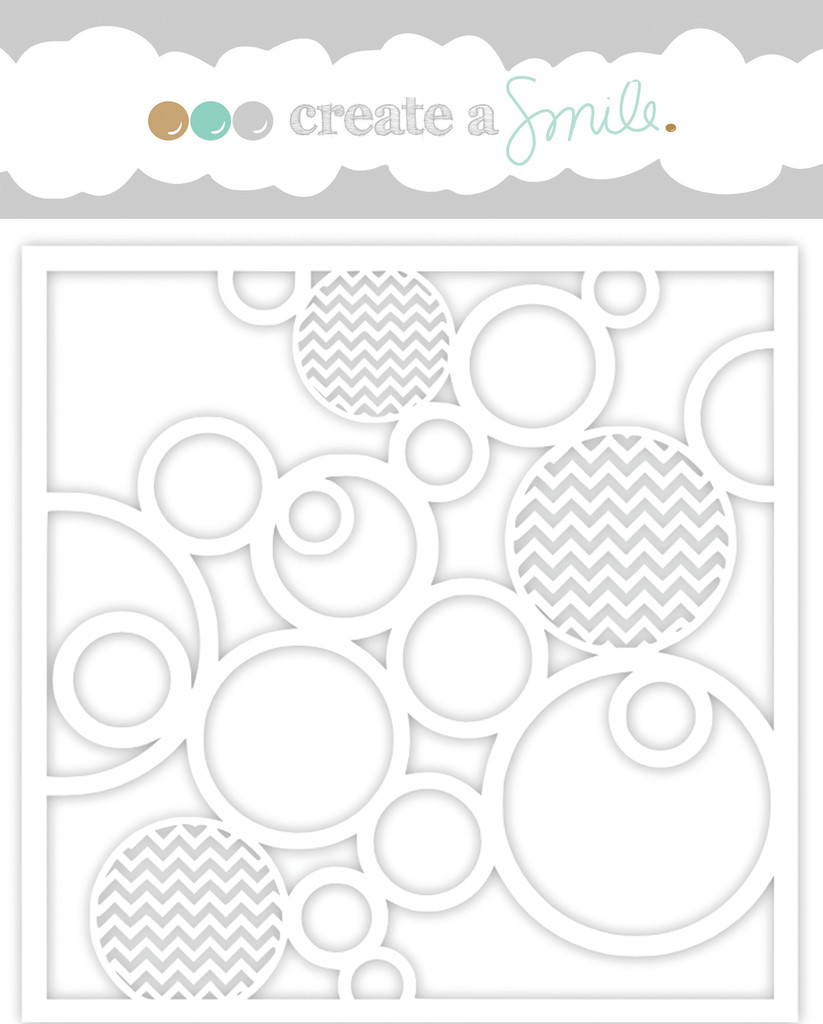 Create a Smile Stencil: In Circles