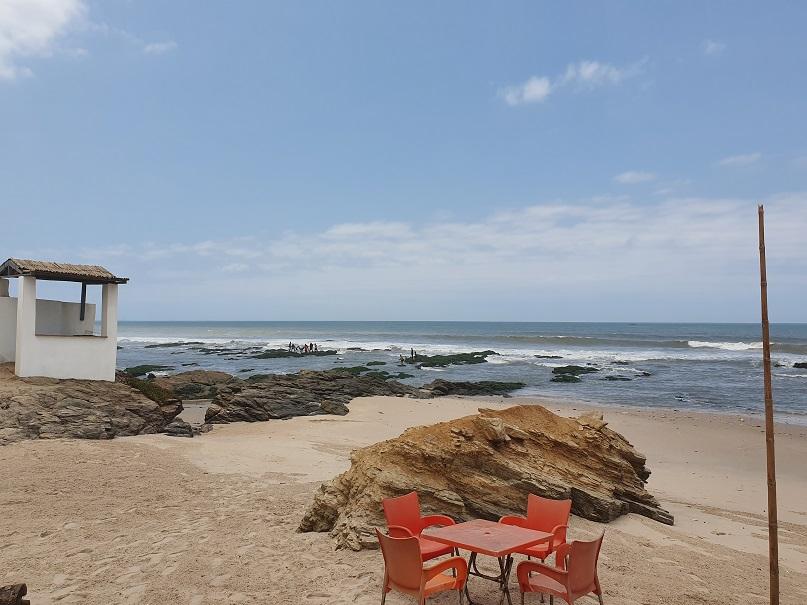 Strand, Müll, Preise, Kultur: Erste Eindrücke von Accra