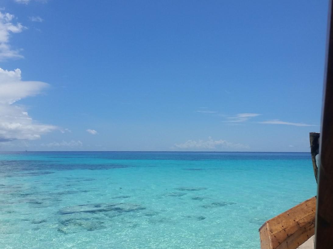 Schnorcheln in den großen Riffen vor Mnemba Island