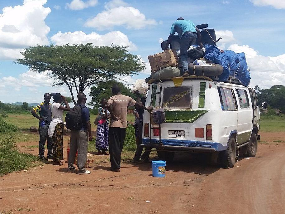 Mit dem ÖPNV durch Subsahara-Afrika