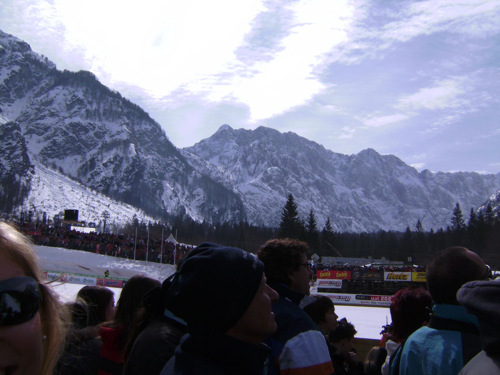 Kranjska Gora in Slowenien: Beim Skifliegen in Planica