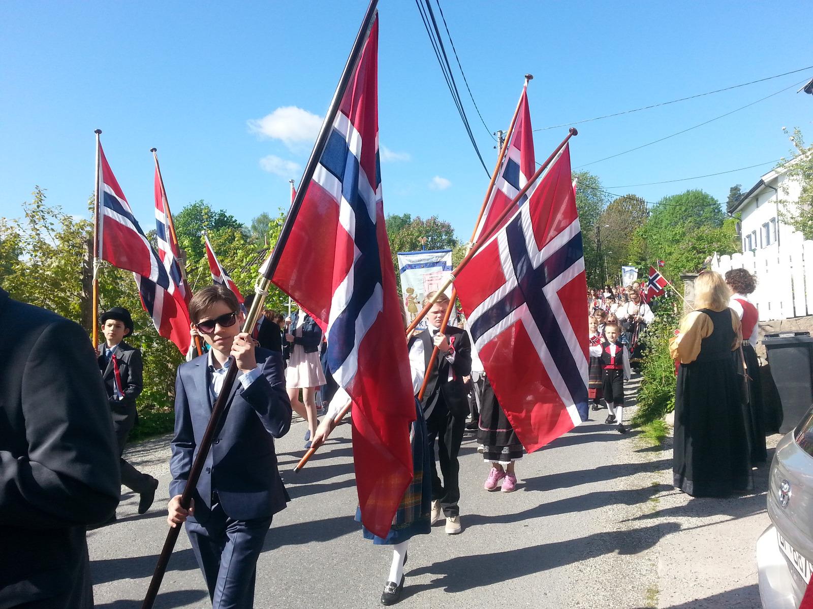 Hipp Hipp Hurra - 17. Mai, Norwegen feiert Geburtstag