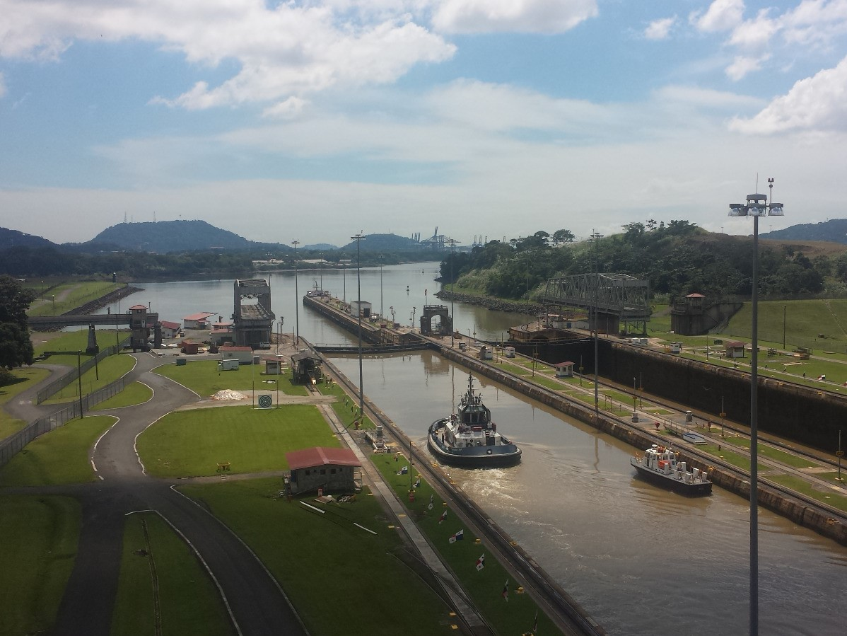 Schiffe versenken am Panama-Kanal: Miraflores