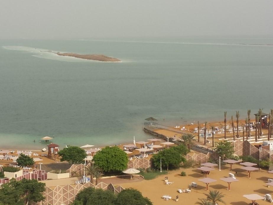 Floating in Israel: Entspannung in En Bokek am Toten Meer