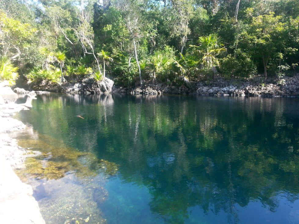 Schnorcheln in der Cenote Cueva de los Peces auf Kuba