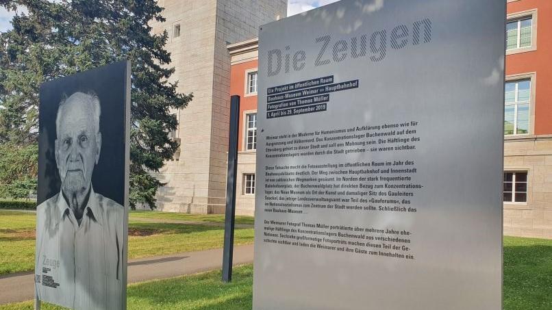 KZ Buchenwald und Haus der Weimarer Republik, Weimar